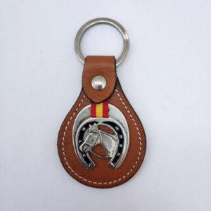 Llavero caballo y herradura