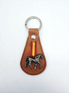 Llavero caballo metal