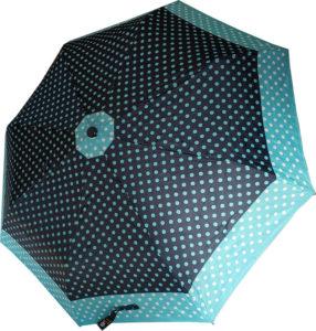 paraguas de lunares
